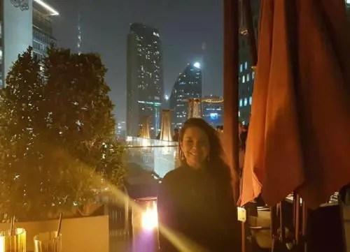 María Teresa Núñez en Dubai, 2017 (Foto: Redes sociales)