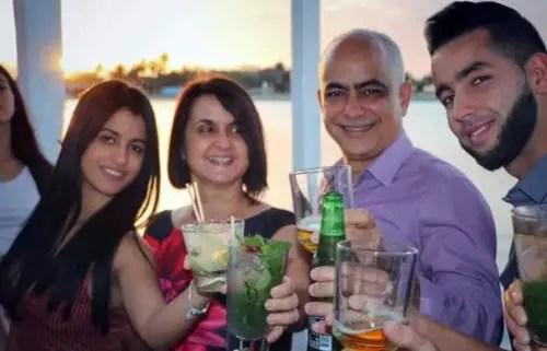 Miembros de la familia Rosales están vinculados abiertamente a Trust Investing (Foto de Facebook)