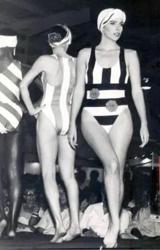 Patricia N├║├▒ez. Una foto de sus a├▒os como modelo en La Habana. Foto tomada de internet