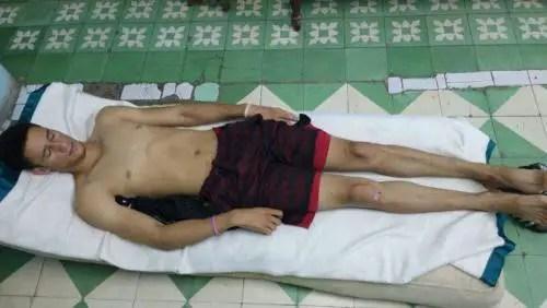 Daniel Ferrer Cantillo, 16 días en huelga de hambre. Foto redes
