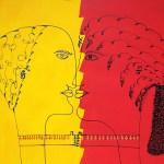 The Kiss / El Beso by Alina