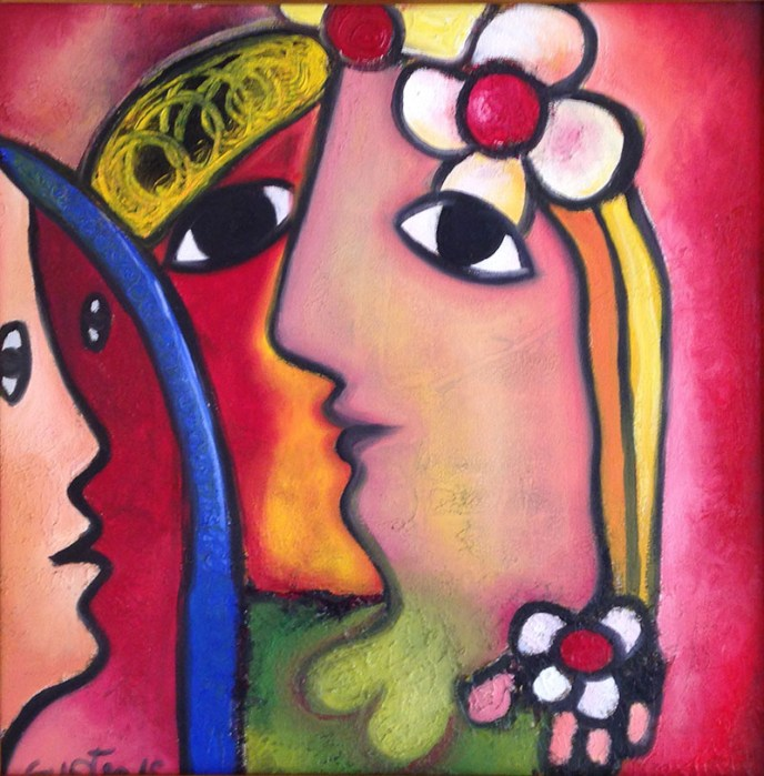 The Woman / Mujeres by Fuster