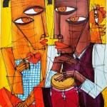 Cuban Duet / Duo Cubano by Avila