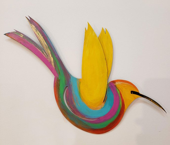 Herson Bird 7 /  by Herson - Israeli Artist