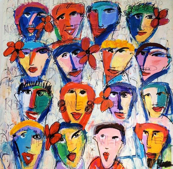 Kiss Me /  by Herson - Israeli Artist