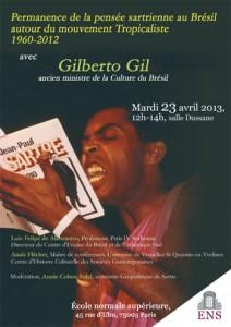 Gilberto Gil Et Sartre étaient-ils Faits Pour S'entendre ?