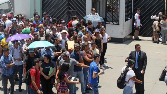 Perú Venezolanos venezuela