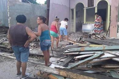Wifredo Lam casa natal Cuba derrumbe