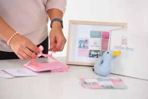 Bianca Schwyn cube box babyonlineshop Geschenkesets