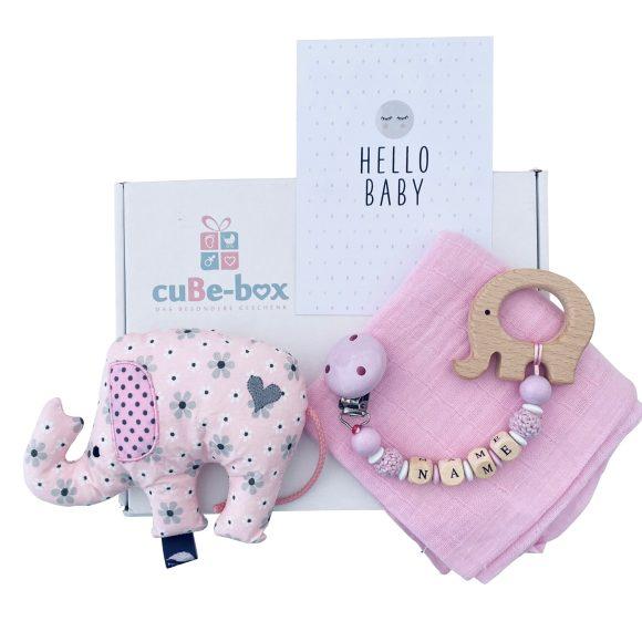 baby geschenk maedchen elefantenrassel