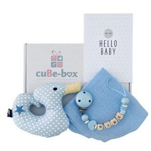 babygeschenk junge entenrassel