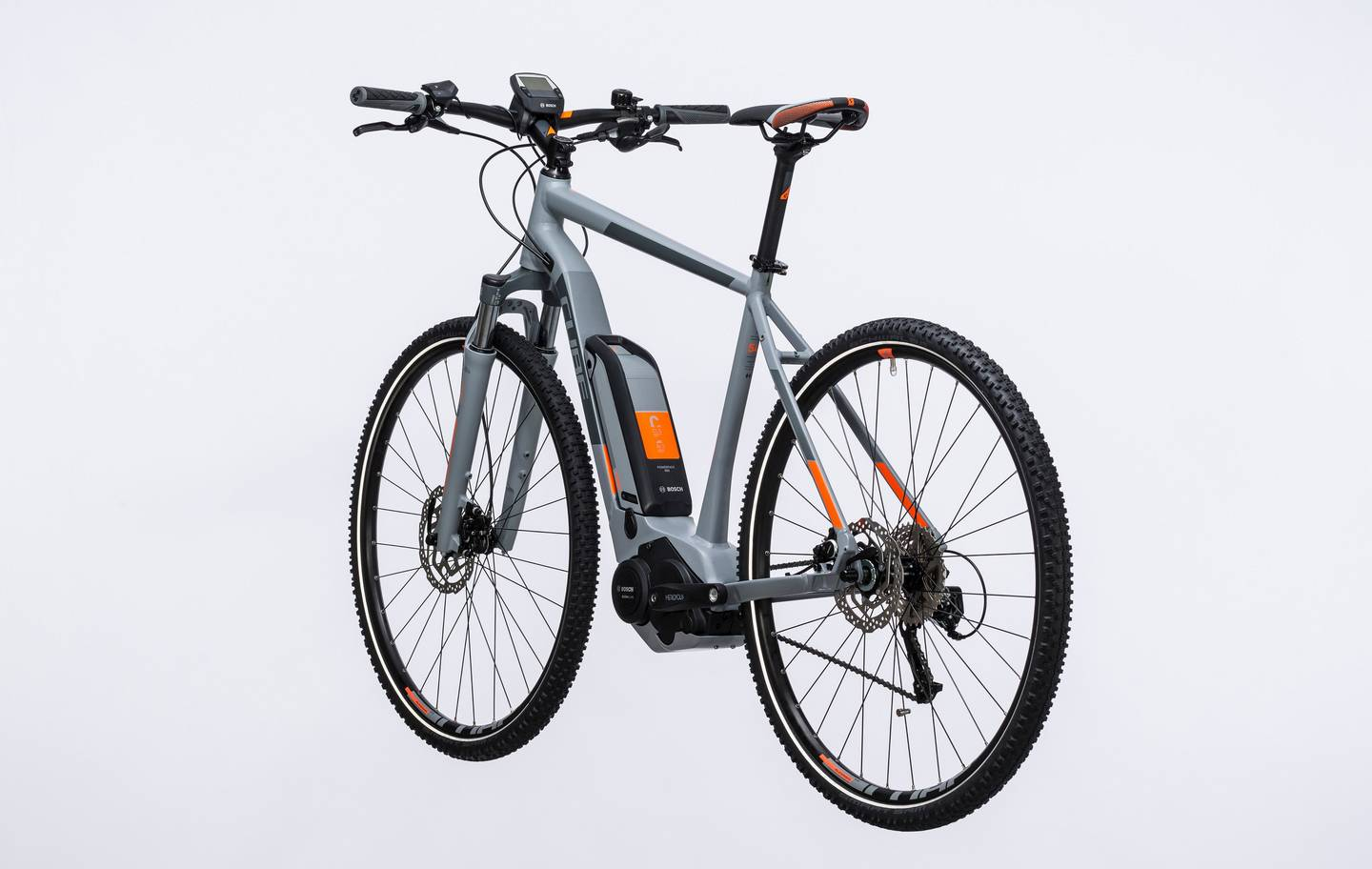 Cube Cross Hybrid One 400 Grey N Orange