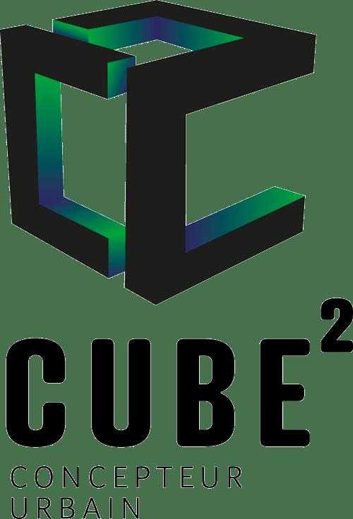 logo cube concepteur urbain et bureau d etudes environnementales