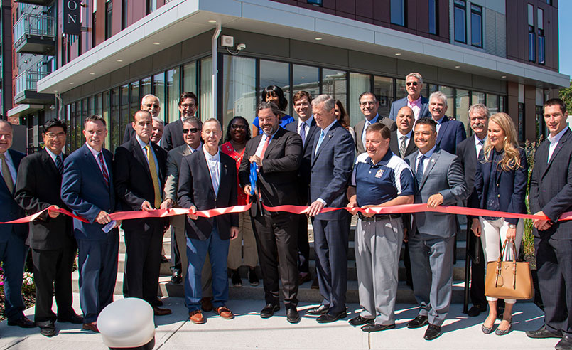 The Watson Ribbon Cutting
