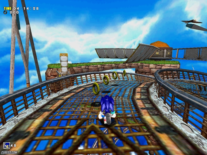 Sonic Adventure DX Directors Cut GameCube Screens And Art
