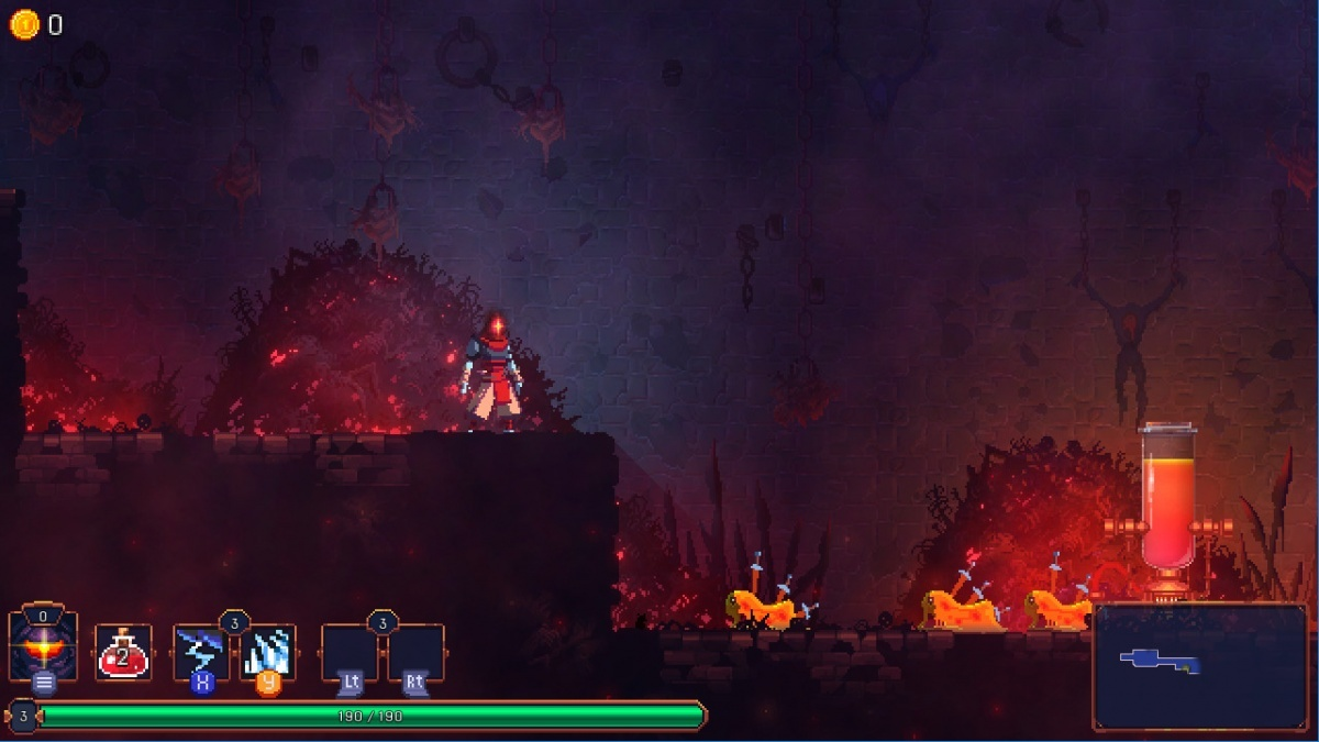 Dead Cells PC Screens And Art Gallery Cubed3