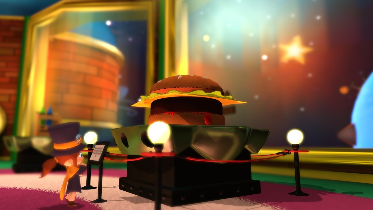 A Hat In Time PC Screens And Art Gallery Cubed3