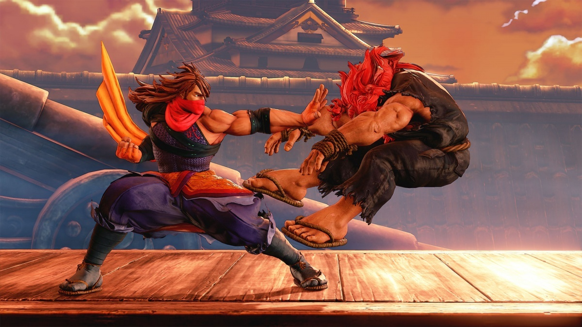 Street Fighter V Arcade Edition PlayStation 4 Screens And