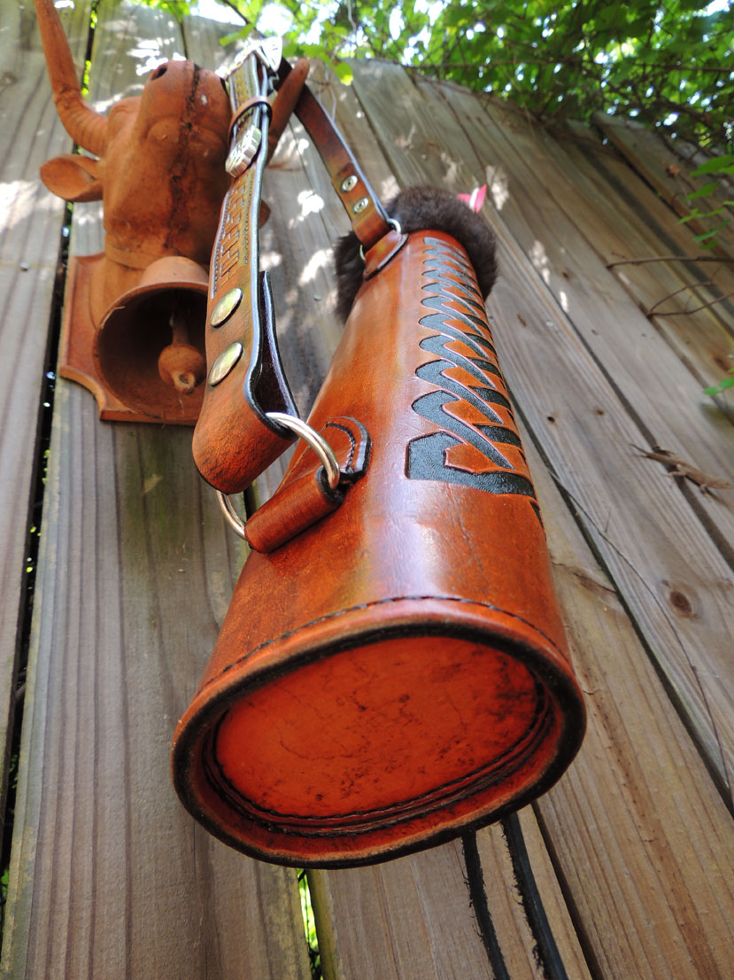 Leather Bow Arm Guard