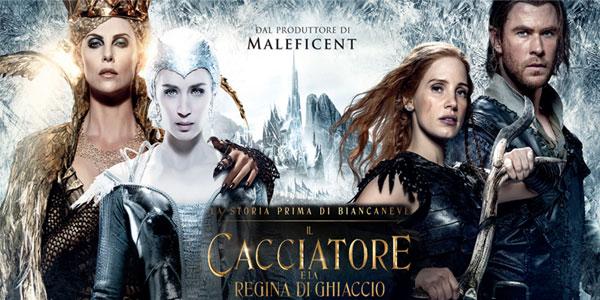 Il Cacciatore E La Regina Di Ghiaccio Tornano Al Cinema