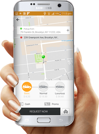 taxi booking app feature