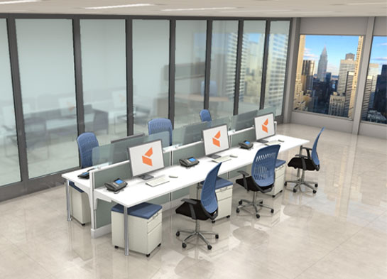 Office Workstations Optima By