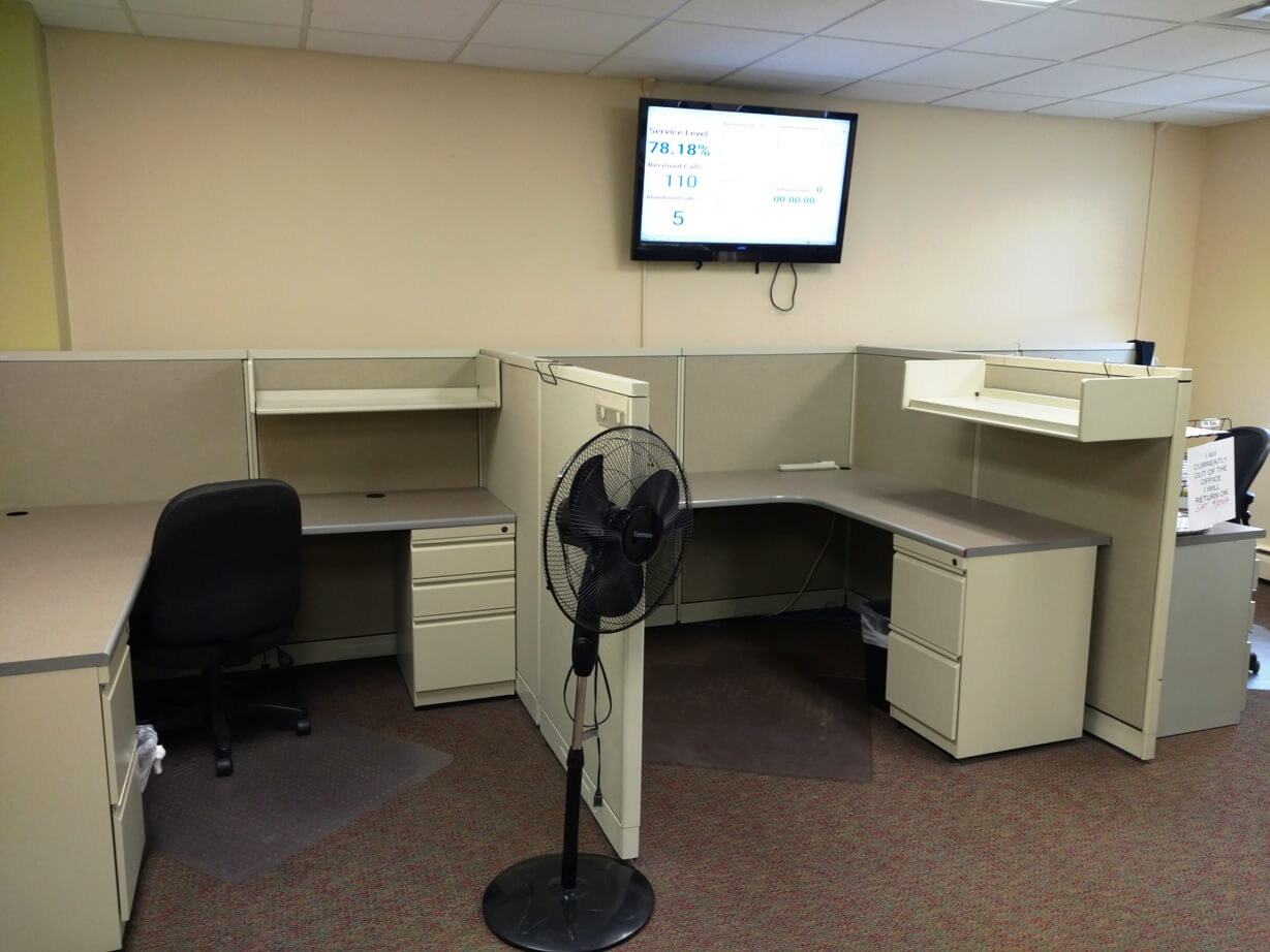 Used Trendway Cubicles Medium Panels Used Cubicles
