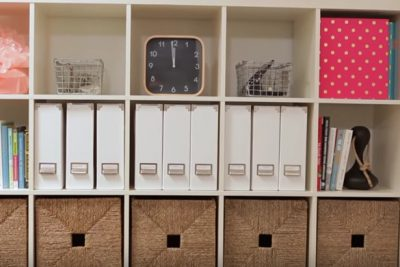 New Routine for Organizing Your Home Office Work Space