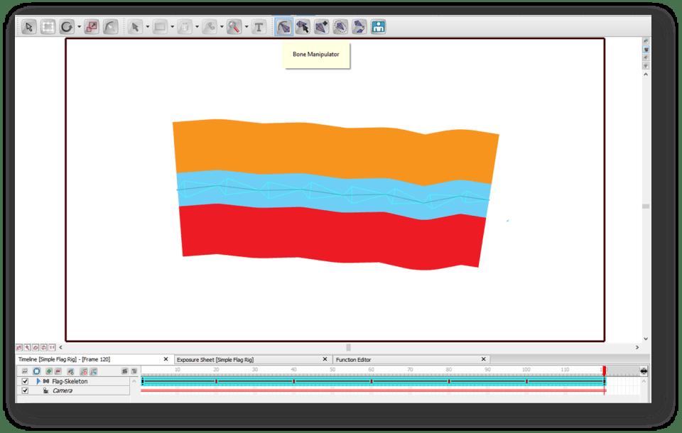Toon Boom Studio Flag Animation