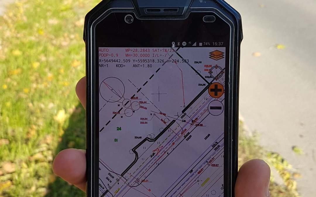 QuickGNSS – the new quality of measurements with Android