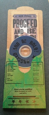Proceed and Be Bold! dvd