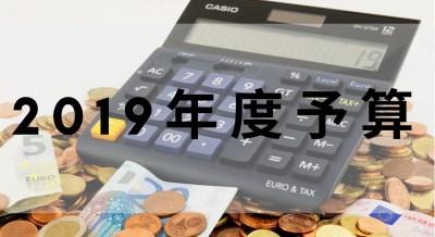 【2019年度予算】今年の生活費は年間100万円とします。【最終版】