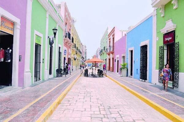 Calle 59 de Campeche