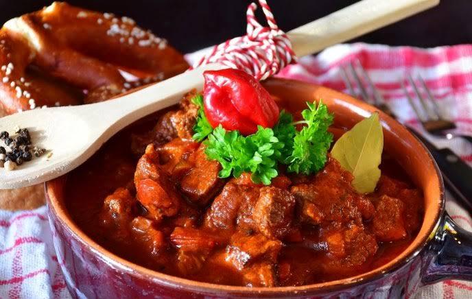 Carne con chile colorado gastronomia de sonora