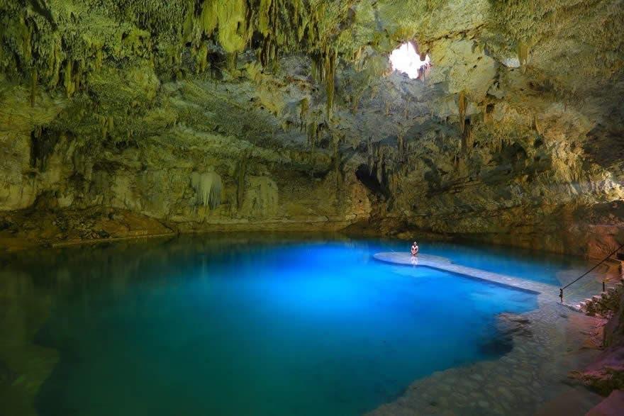Cenote Suytún que ver mexico