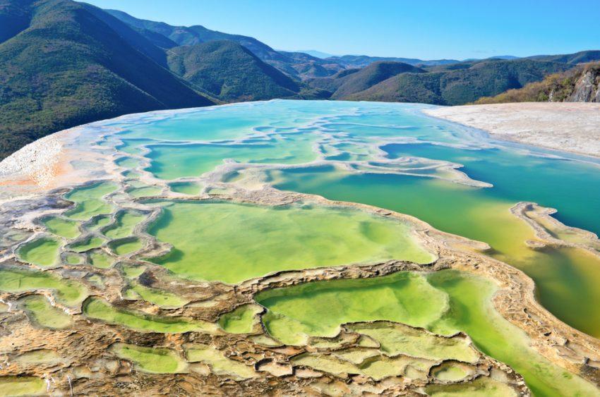 Hierve el Agua atractivos de Mexico
