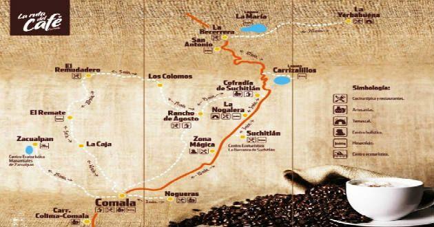 ruta del cafe de colima
