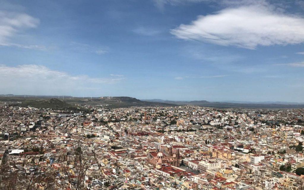 vista panoramica cerro de la bufa
