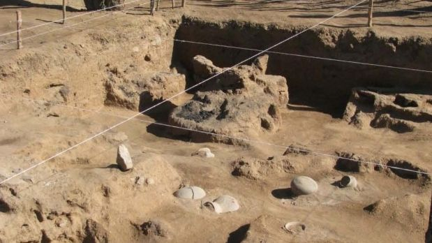 Cementerio prehispanico de sonora