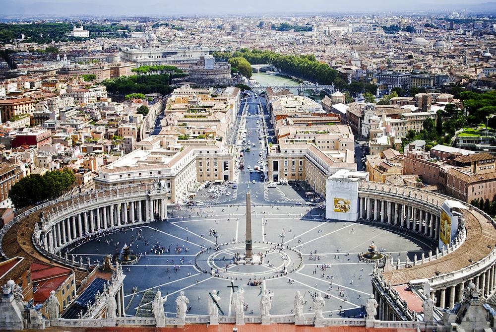 Plaza San pedro atractivos de italia roma
