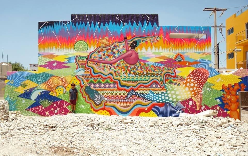 murales de isla mujeres