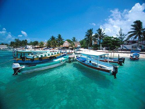tour en lancha isla mujeres