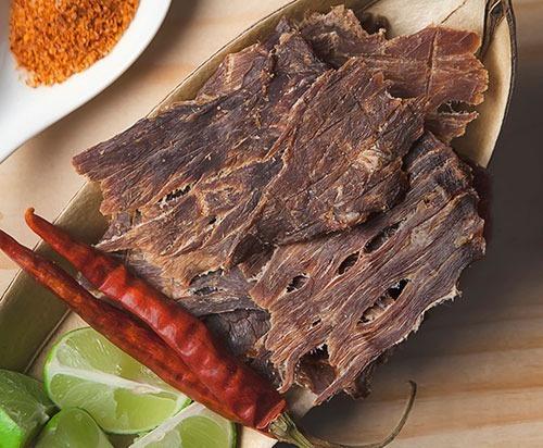 carne seca comida tipica de chihuahua
