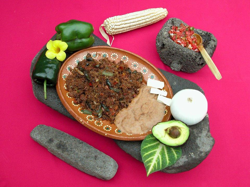 Machaca gastronomia de mocorito