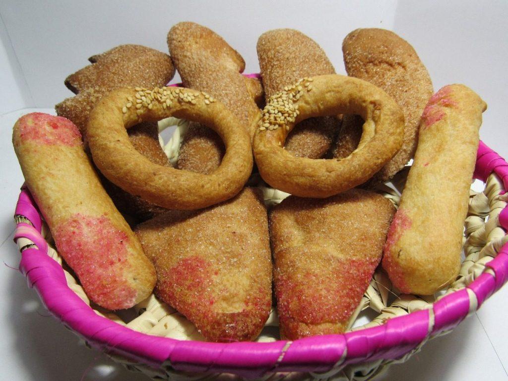 Pan coleto dulces de chiapas