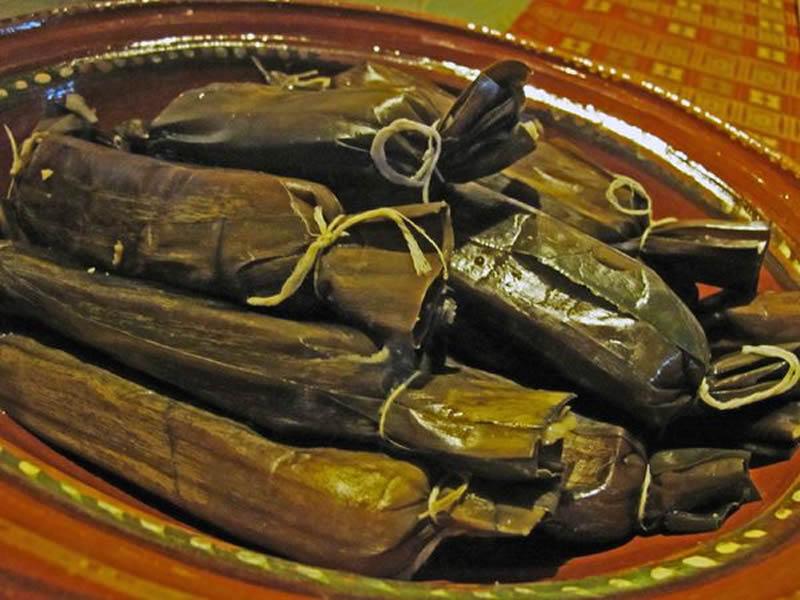 Tamal de Cambray platillos tipicos de chiapas