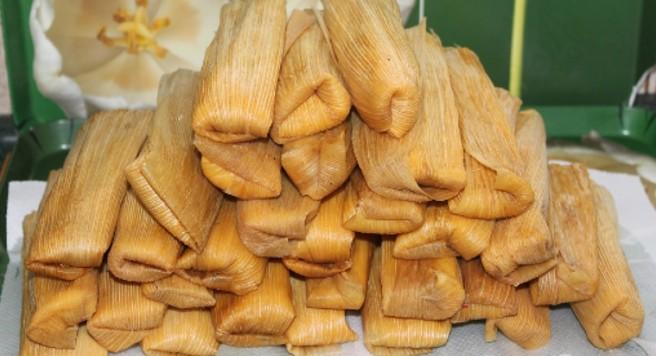 Tamales de dedo