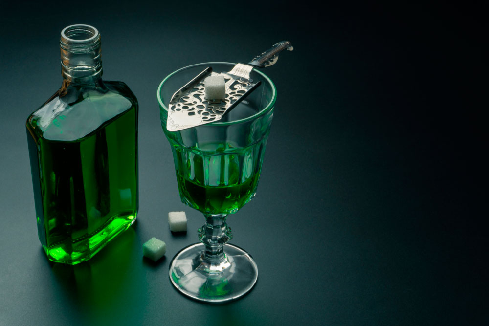Absenta bebida de francia