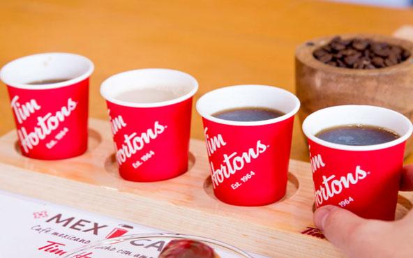 Café de Tim Hortons bebidas tipicas de canada