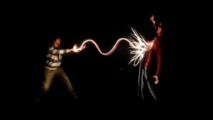 Light painting - fotografia nocturna